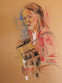 Accordeon-pastel